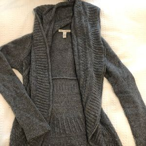 autumn cashmere circle grey sweater